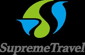 会社のロゴ スプリームトラベル